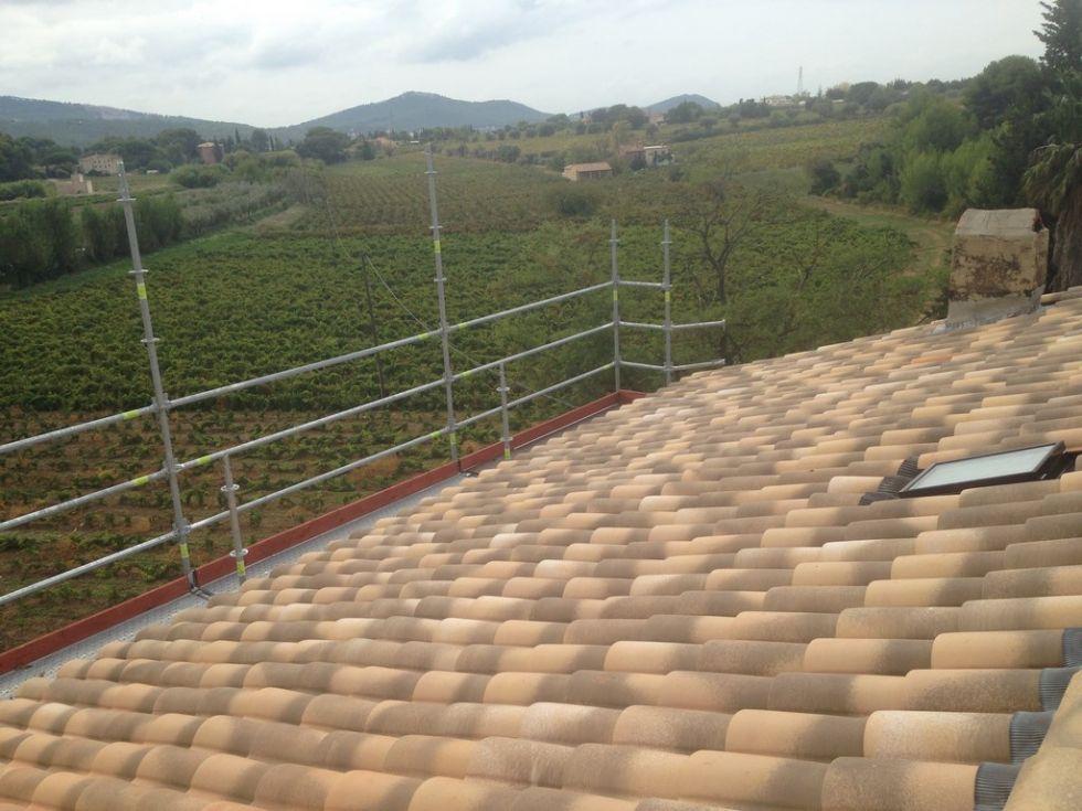 R novation d 39 une toiture la cadi re d 39 azur pose et for Renovation d une toiture