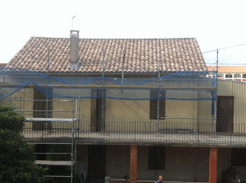 R novation de toiture sept mes pose et r paration for Superficie toiture